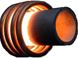 Индукционный нагреватель трубы